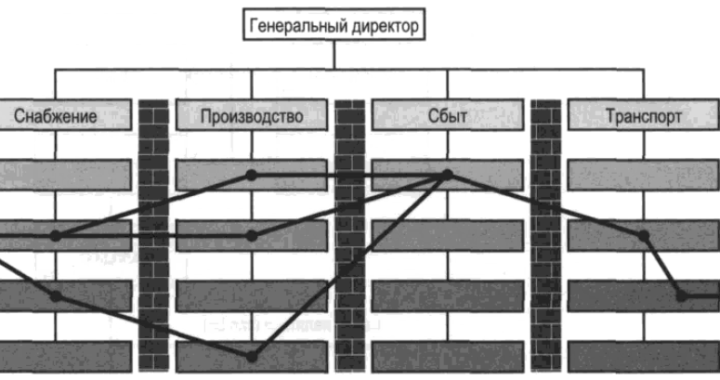 Функционально-ориентированная (иерархическая) организация